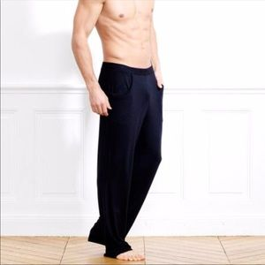 Les Lunes Bamboo Black Lounge Pants